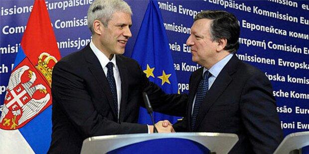 EU gibt jetzt grünes Licht für Serbien-Beitritt