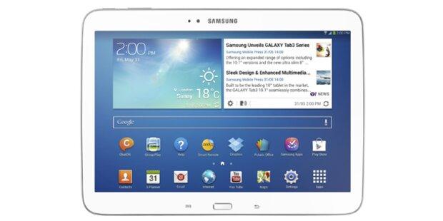 Mit oe24 ein Samsung GALAXY Tab gewinnen