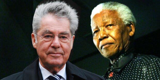 Mandela: Fischer reist nicht zu Trauerfeier
