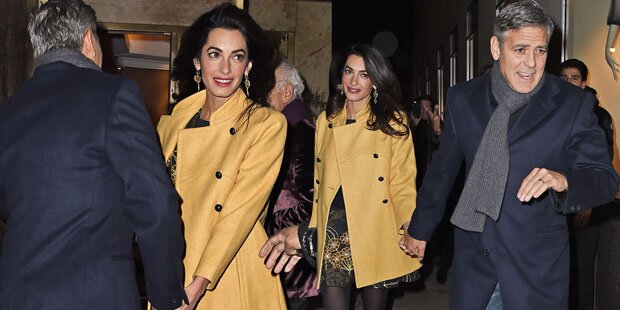 Amal & George Clooney: Hand in Hand