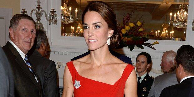 Herzogin Kate: Wird sie immer dünner?
