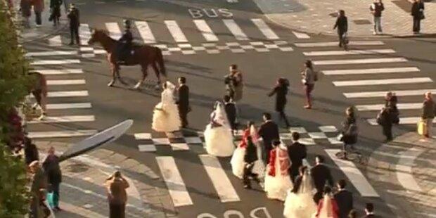 Traumdatum: Massen- Hochzeiten am 12.12.12