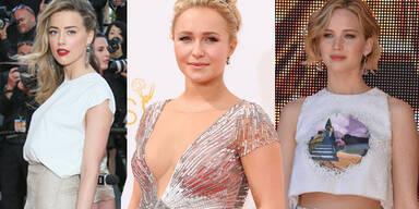 Hayden Panettiere, Amber Heard, Jennifer Lawrence