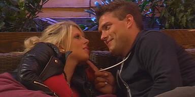 """""""Big Brother"""": So kuscheln & knutschen Sharon & Kevin"""