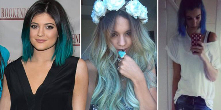 Kylie, Vanessa & Co.: Stars machen Blau