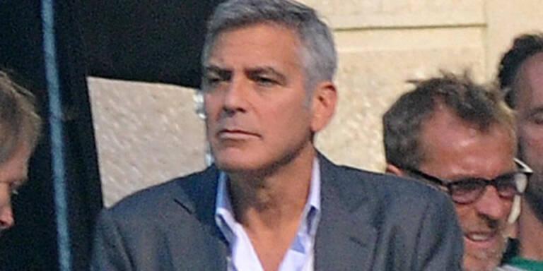 Clooney: Ärger bei Hochzeitsplanung