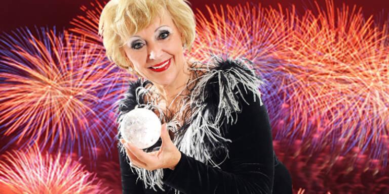"""Rosalinde Haller  """"schaut"""" ins Jahr 2012"""