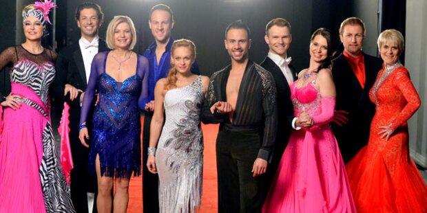 Die Dancing Stars im ersten Check