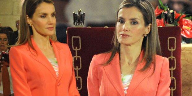 Letizia, warum schaust du so unglücklich?