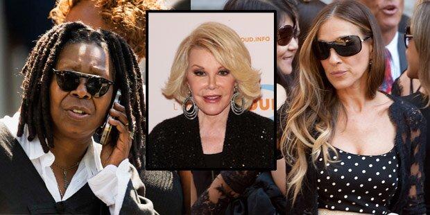 Joan Rivers: Stars erwiesen letzte Ehre
