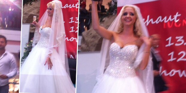 Lugners Spatzi: So schön als Braut