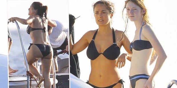Salma Hayek: Sexy Yachturlaub
