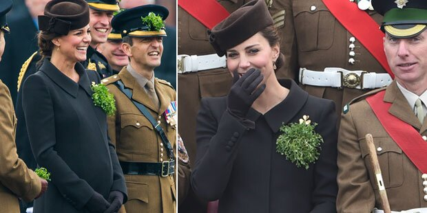Herzogin Kate, was ist denn so lustig?