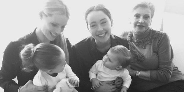 Michelle Hunziker: Süßes Familienfoto