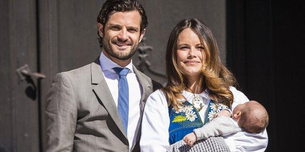 Sofia & Carl Philip: Auftritt mit Baby
