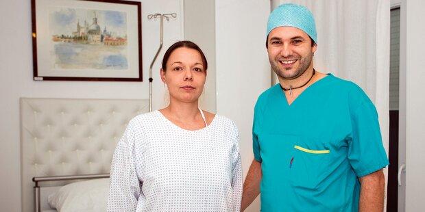 Wiener  Arzt rettet Silikon- Opfer