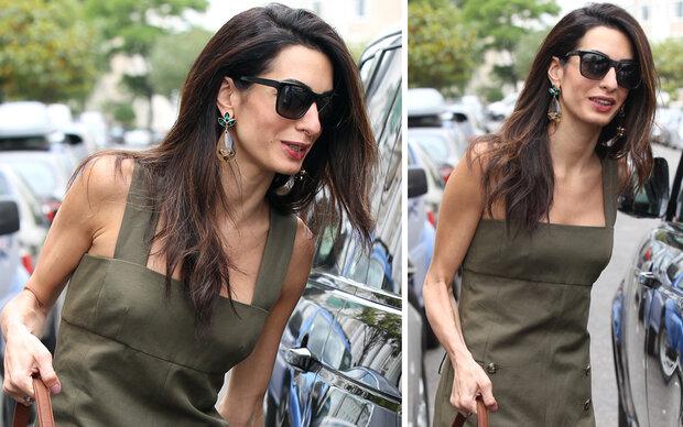 Amal Clooney – nur noch Haut und Knochen