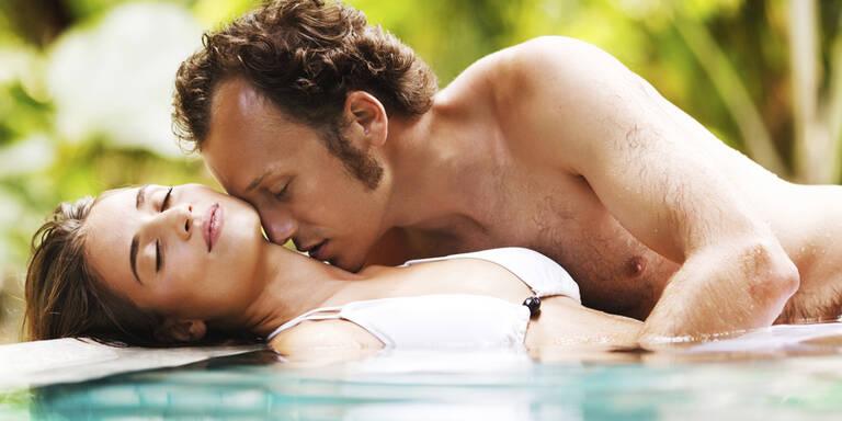 So heiß ist Sex im Wasser