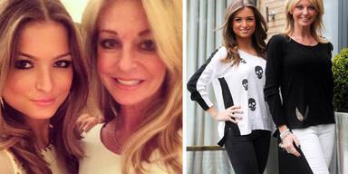 Mutter und Tochter oder Schwestern?