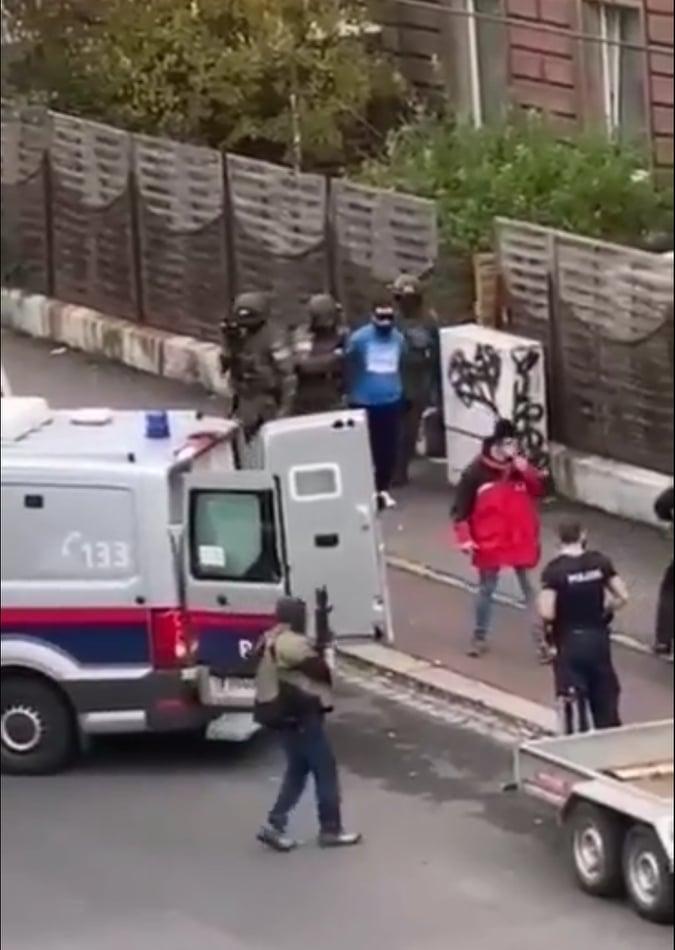 Verhaftung Linz