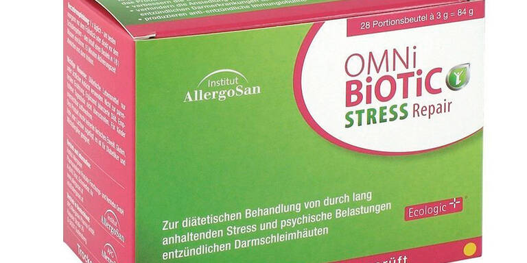 Darmgesundheit gegen Stress