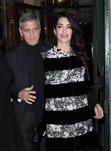 Amal Clooney: Die besten Schwangerschafts-Looks