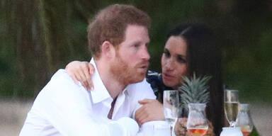Prinz Harry & Meghan Markle: Liebes-Show auf Jamaika