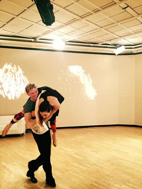 Nina Hartmann bei Dancing Stars