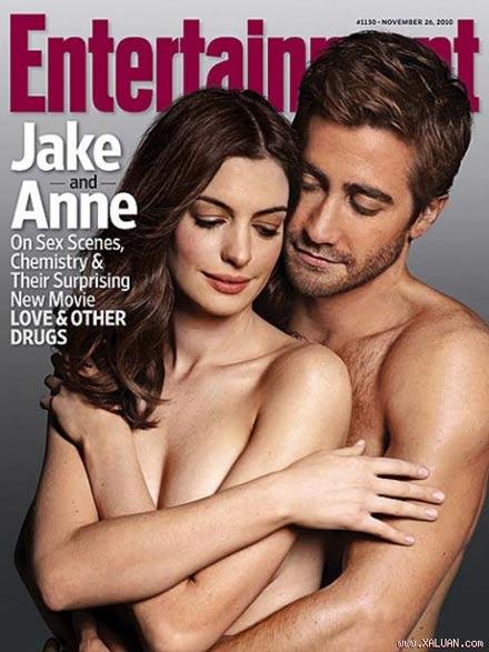 Anna Hathaway & Jake Gyllenhaal: 3 Mal nackt am Cover von Entertainment Weekly