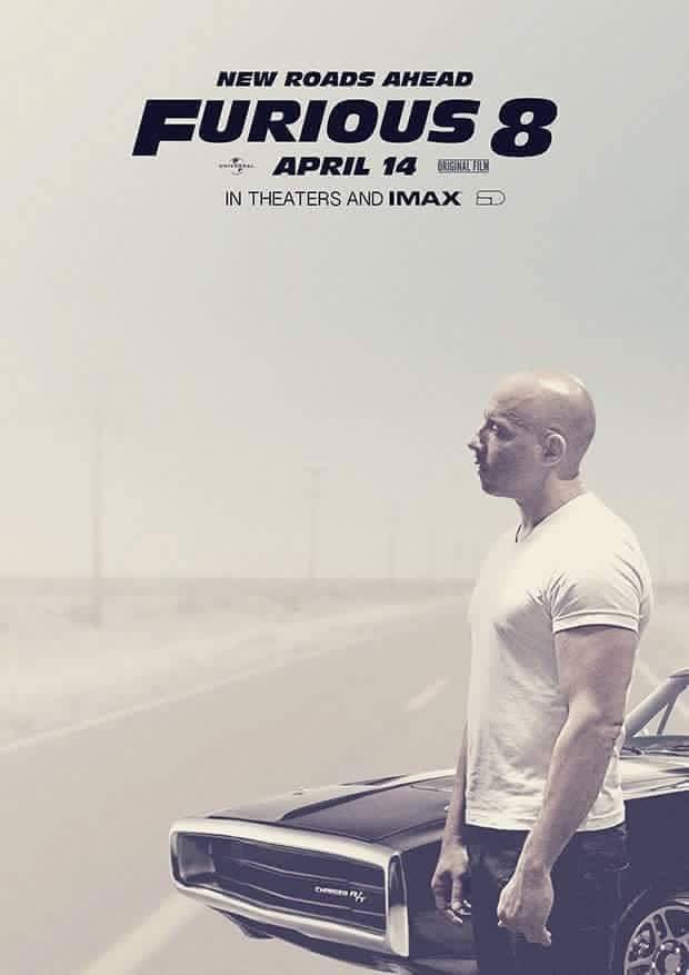 Vin Diesel, Furious 8
