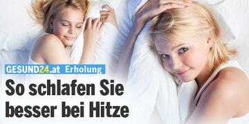 Erholung: Besser schlafen trotz Hitze