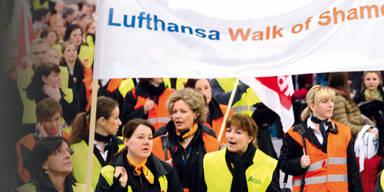 Lufthansa legt Europa lahm