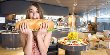 Fettfalle Kantine: Wie kann man gesund essen?