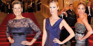 Voting: Die schönste Robe am Opernball 2014