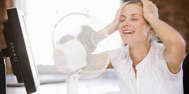 Abkühlung im Auto, Büro und Zimmer