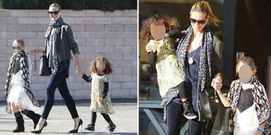 Klum: Shopping-Ausflug mit ihren Mädchen