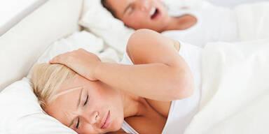 Tipps gegen lästiges Schnarchen