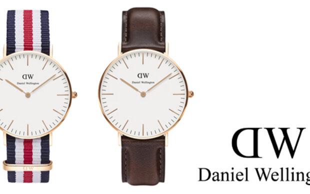 Zwei Uhren von Daniel Wellington
