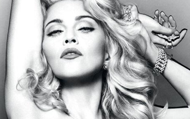 Madonna wirbt fast nackt für Parfüm
