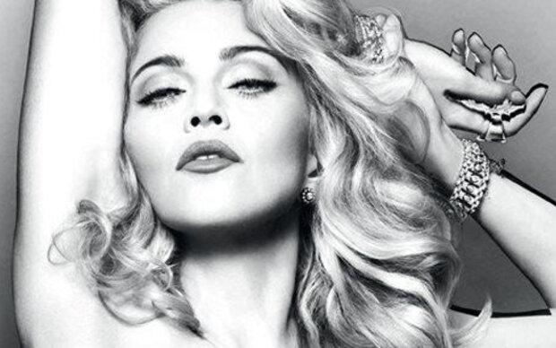 Madonna nackt in Beweismaterial