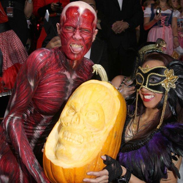 Heidi Klum und Tom Kaulitz zeigen ihre Halloween-Verwandlung