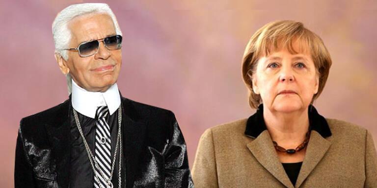Lagerfeld lästert über Merkels Stil