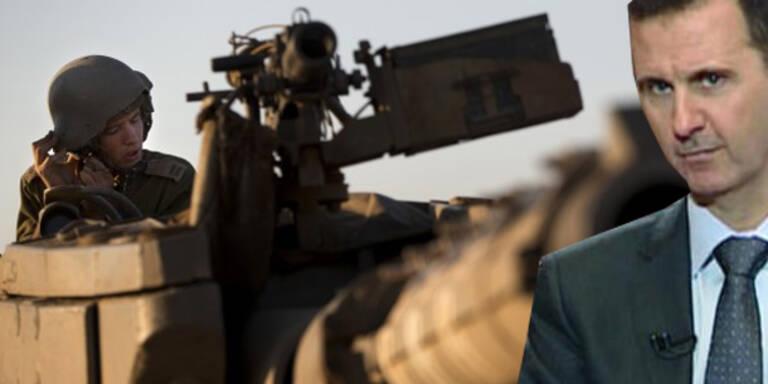 """Syrien erwartet   """"jeden Moment"""" Militär-Intervention"""