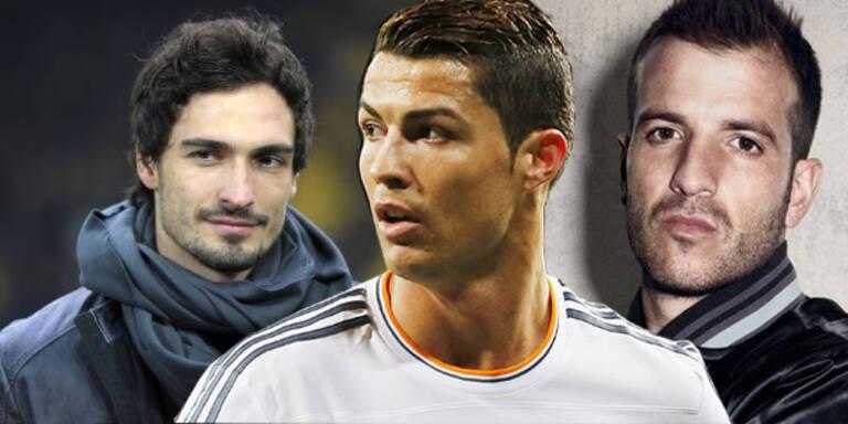 Das sind die begehrtesten Fußballspieler