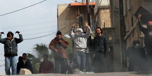 Damaskus und Aleppo unter Beschuss