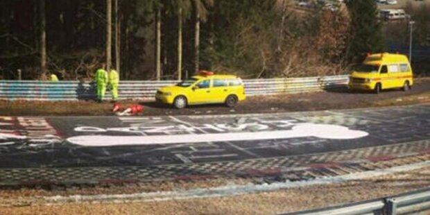 Wegen Penis: Polizei sperrt Nürburgring