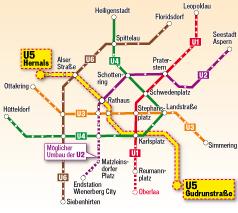 Wr Linien U5 Fährt Bis Elternleinplatz
