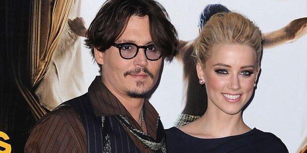 Johnny Depp & Amber Heard haben geheiratet