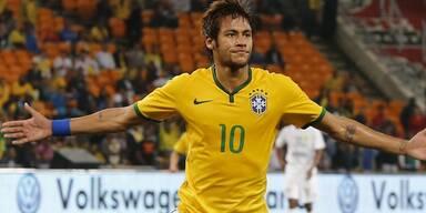 Neymar bricht bei PK in Tränen aus