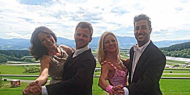 Gabalier: Tanz-Stunde für Daniel Riccardo